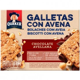 QUAKER GALLETA AVENA CHOCOLATE