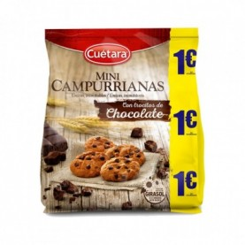 MINI CAMPURRIANAS CHOCOLATE 1€