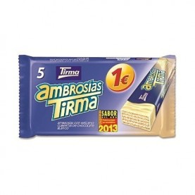 AMBROSIA CHOCOLATE BLANCO  1€
