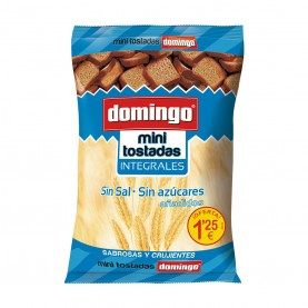 DOMINGO MINI TOSTADAS INTEGRAL 120GRS