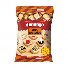 DOMINGO MINI TOSTADAS BLANCAS 120GRS