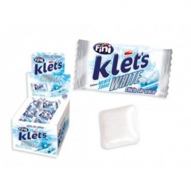 CHICLE KLETS WHITE 200 UDS