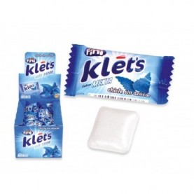 CHICLE KLETS MENTA 200 UDS