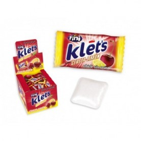 CHICLE KLETS CEREZA-LIMA 200 UDS