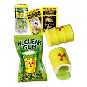 CHICLE NUCLEAR GUM GIGANTES 50 UDS