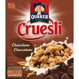 QUAKER CRUESLI CHOCOLATE