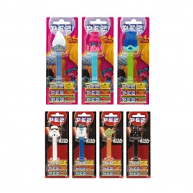 PEZ TROLLS Y STAR WARS