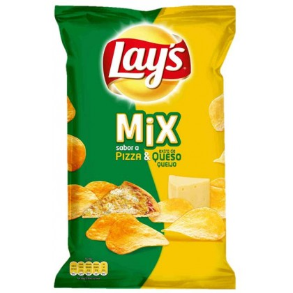 LAY'S MIX PIZZA Y QUESO