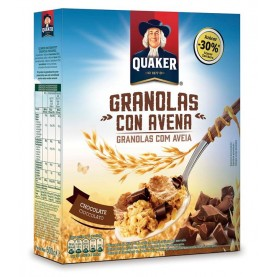 QUAKER GRANOLAS CHOCOLATE