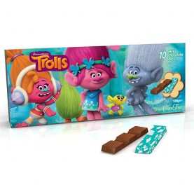 BARRITAS DE CHOCOLATE TROLLS